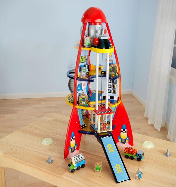 kidkraft rocket play set