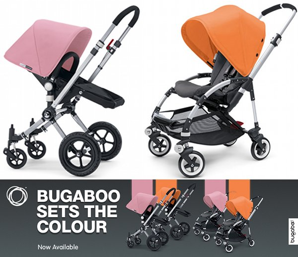 bugaboo spring colours Bugaboo new releases and specials at Minimee!