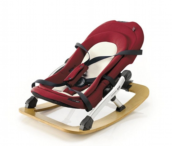 Concord Rio baby rocker in Chilli from Urban Baby