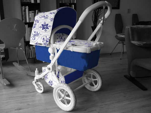 delft blue cameleon carrycot World exclusive   bid on a one of a kind Bugaboo Donkey and raise money for charity