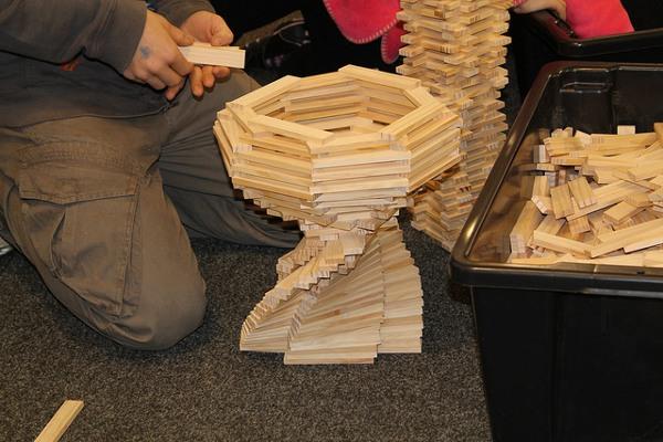 Green Hat Workshop Planks spiral bowl