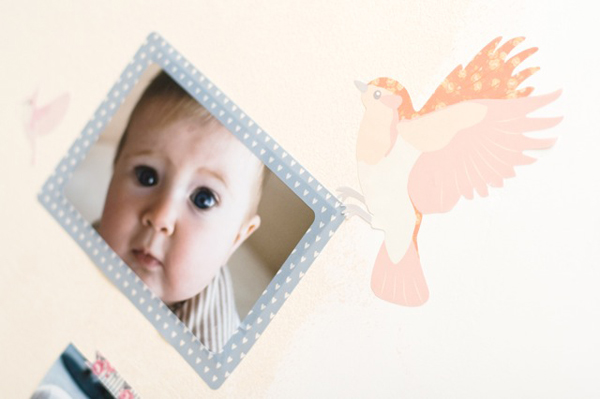 Love Mae wall decal sticker photo frames
