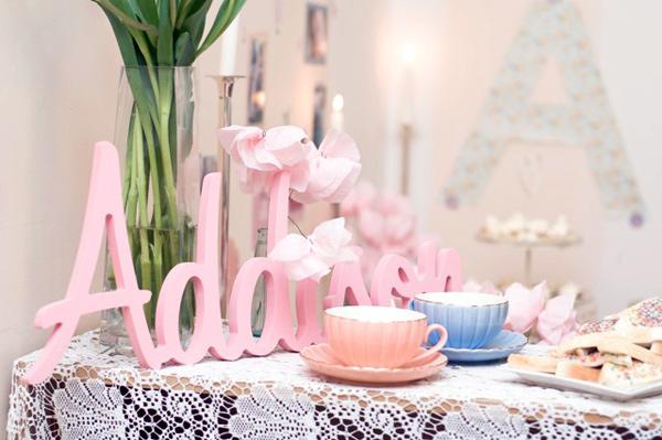 high tea themed birthday party