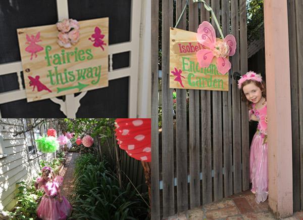 enchanted woodland fairy garden birthday decorations
