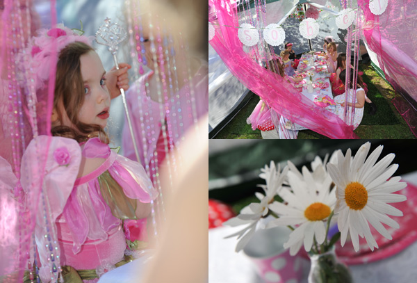 pink woodland vintage fairy party