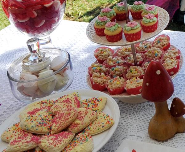 fairy birthday feast, woodland fairy party