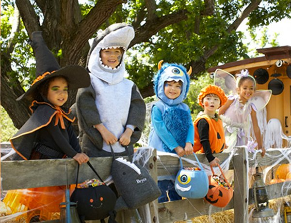 pottery Barn Kids dress ups halloween