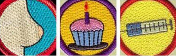 Mama Merit Badges