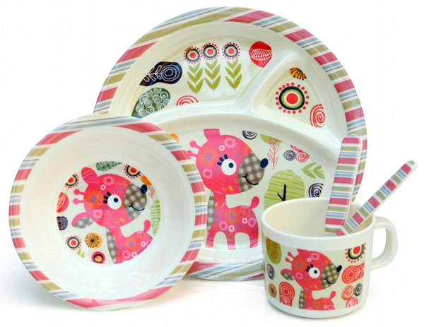 Share  sc 1 st  Babyology & The coolest melamine plates for kids at Urban Baby