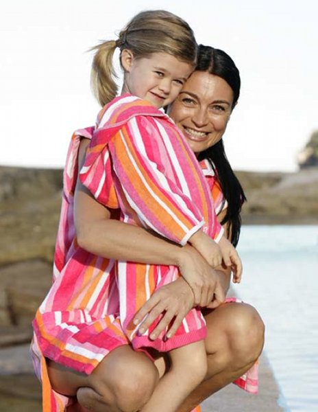beach robes kids holidays swimming