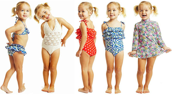 swimwear, girls bathers