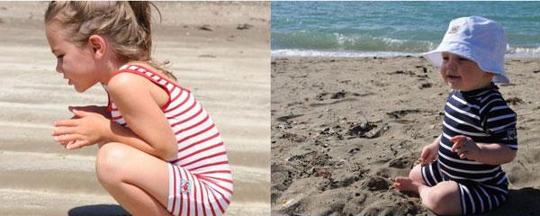 kids swimwear, long sleeve bathers