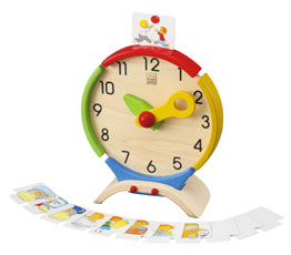 Plan Toys Clock Babyology Christmas Gift Guide   three to four years
