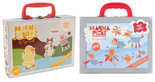 Tiger Tribe Magna Play and Magna Junior sets