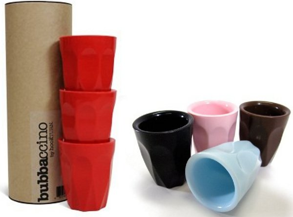 bubbaccino Bubbaccino reuseable cups   for child sized sophisticated sips