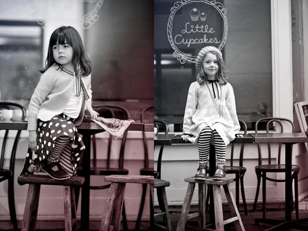 winter 2012, a Paris story, Camille spot skirt