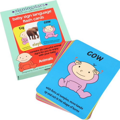 kit2 Give frustrated babies a hand with Baby Sign Language