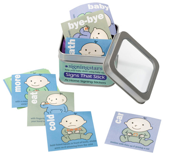 kit3 Give frustrated babies a hand with Baby Sign Language