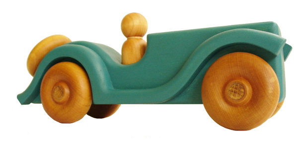 handmade wooden car by Hill Country Woodcraft