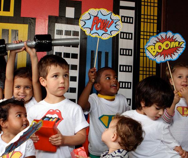 superhero birthday, superman