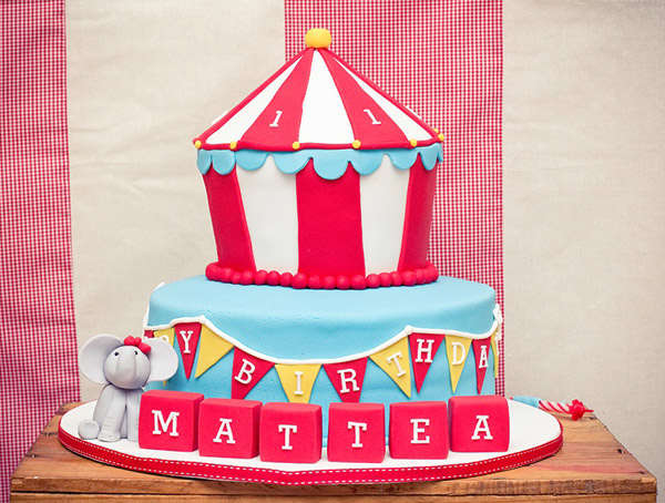 vintage circus carnival party 2 Show us your party   Matteas vintage carnival birthday