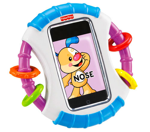 Fisher Price Apptivity Case Survival of the fittest   kid proof cases for iPod & iPhone