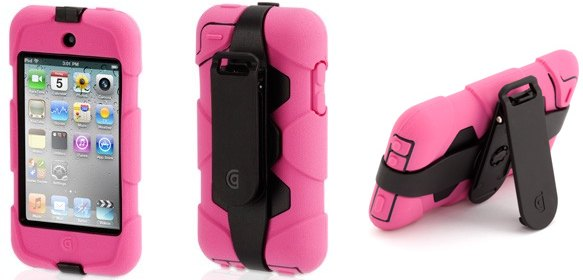 Griffin Survivor Survival of the fittest   kid proof cases for iPod & iPhone