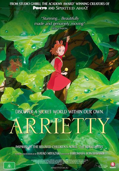 arrietty 1Sheet HI Dont miss Arrietty   it opens Nationwide January 12