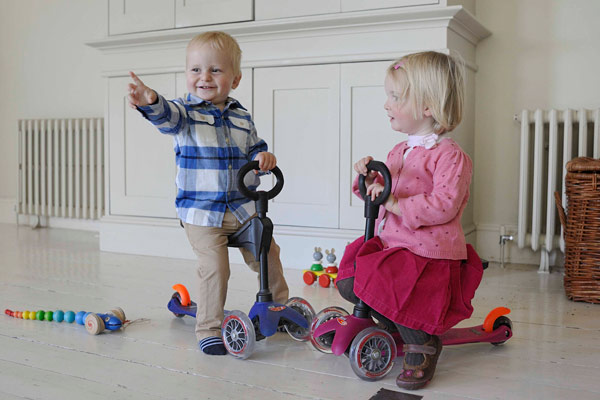 kick3 seat Mini Micro Scooter gets toddler friendly with the Kick3 seat