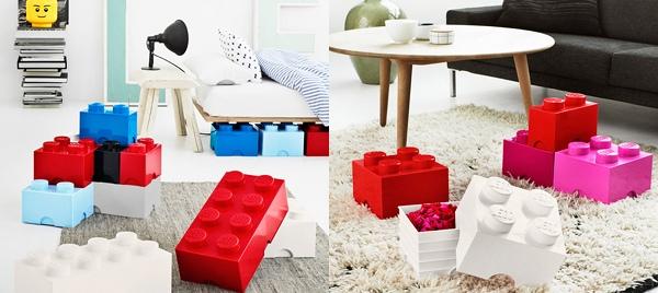 Lego storage bricks
