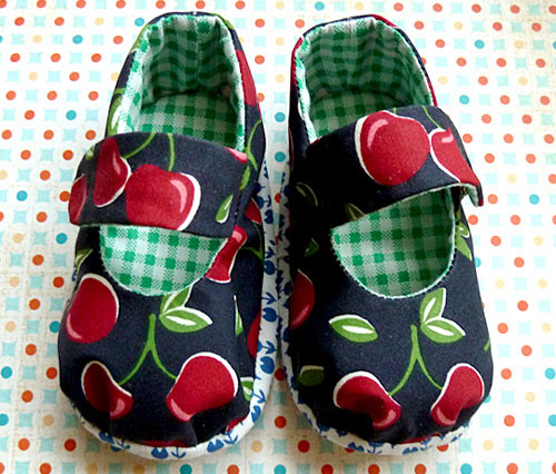 Little Odd Forest Maryjane baby shoes