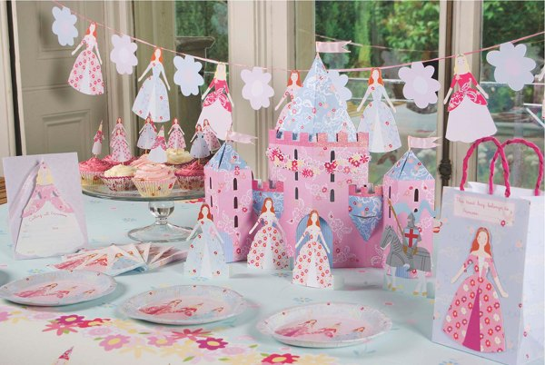 Princess Party supplies from Party and Co