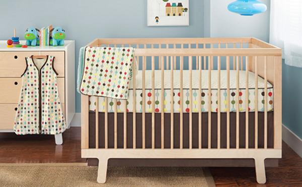 cot sheet decor nursery