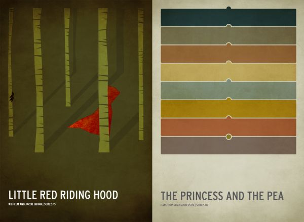 Little Red Riding Hood, Princess and the Pea