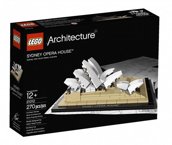 Lego Sydney Opera House1 Sydney Opera House immortalised by Lego Architecture!