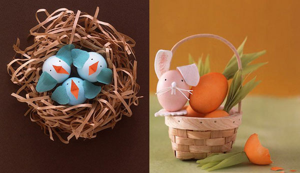 Martha Stewart creatures Have some cracking fun with Easter craft ideas