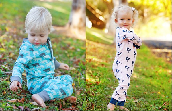 cocoomerompers Cocoome Organic Sleepwear   stylish childrens pyjamas