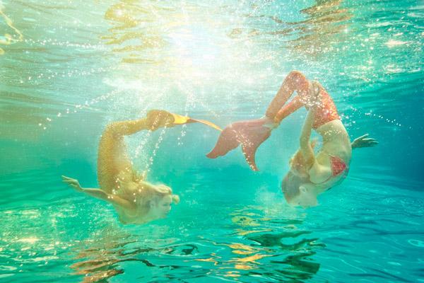 little mermaid, mermaiding, Kazzie Mahina