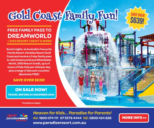 Paradise Resort Dreamworld Offer_On Sale Now_600x500px