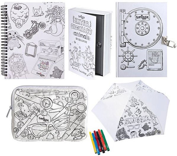 Smiggle It S Your Turn To Colour Their Stationery Smiggle Colouring Pages