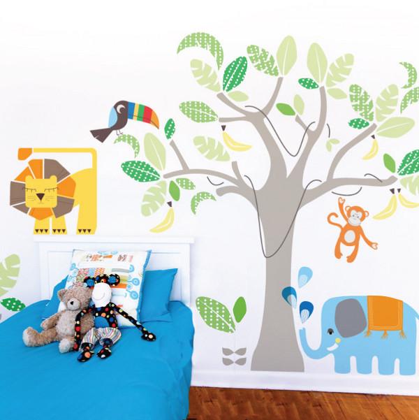 Leafy Dreams Nursery Decals