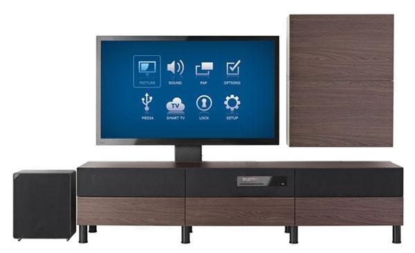 IKEA Uppleva fully integrated tv