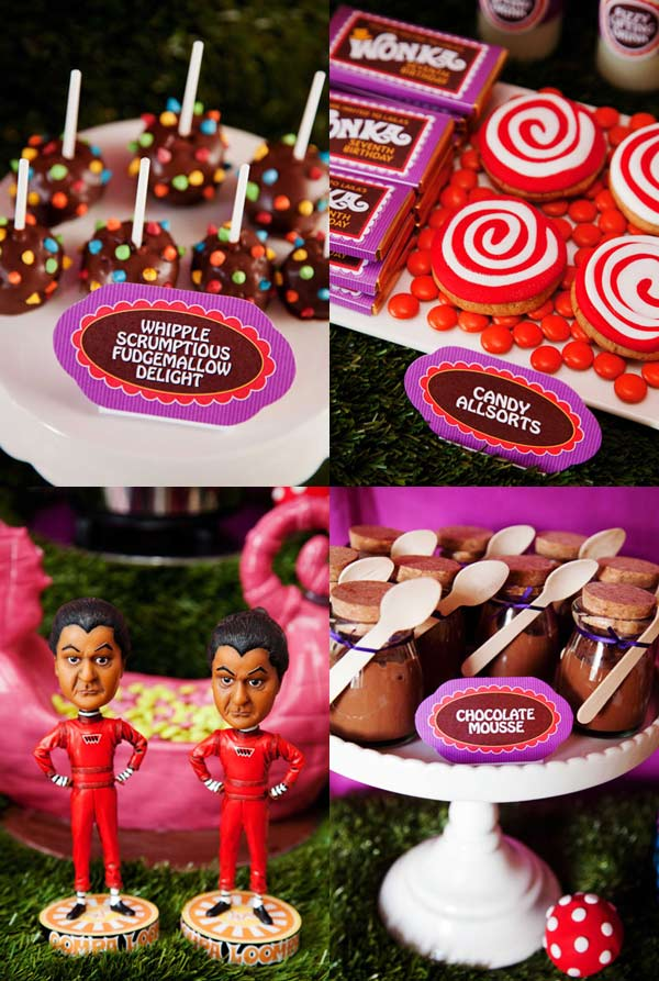 Charlie and the chocolate factory birthday