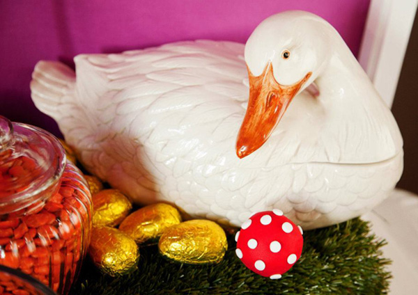 Charlie and the chocolate factory birthday, goose that lays golden eggs