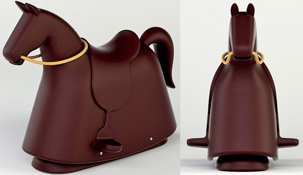 Rocky Marc Newson Rocky – the rocking horse with designer style