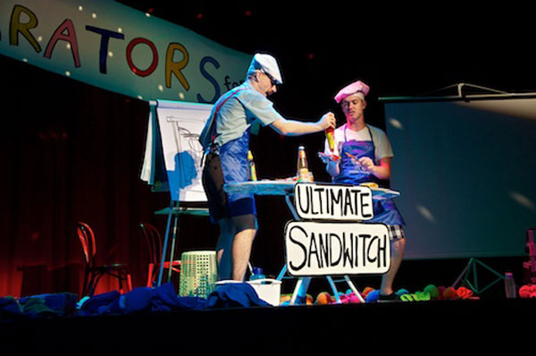 The List Operators sandwich July school holiday fun   The List Operators at Sydney Opera House