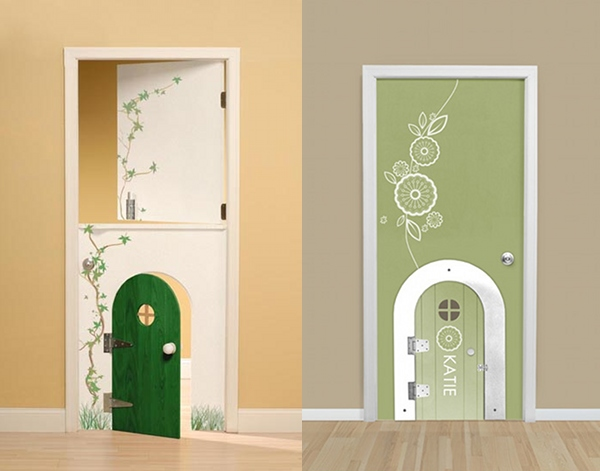 My door diy from kidtropolis now available to australia for Diy interior door designs