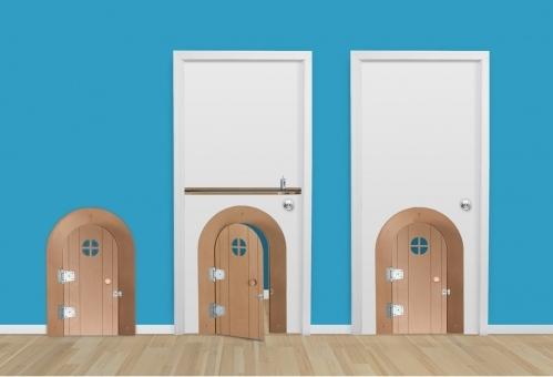 My Door DIY from Kidtropolis Build