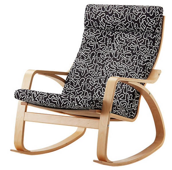 Ikea Poang nursery rocking chair