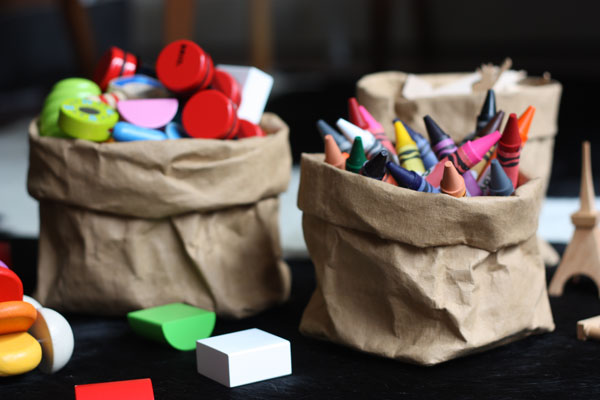 paper bag storage